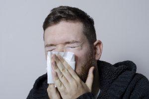 鼻水でストレス判定